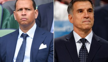 Mets Sale: Alex Rodriguez and Vincent Viola - the man with the bucks (Getty images)