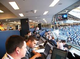 Yankee Stadium Press Box - Shut Down MLB 2020