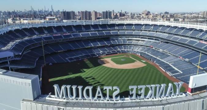 Yankee Stadium - Empty, but not for baseball 2020