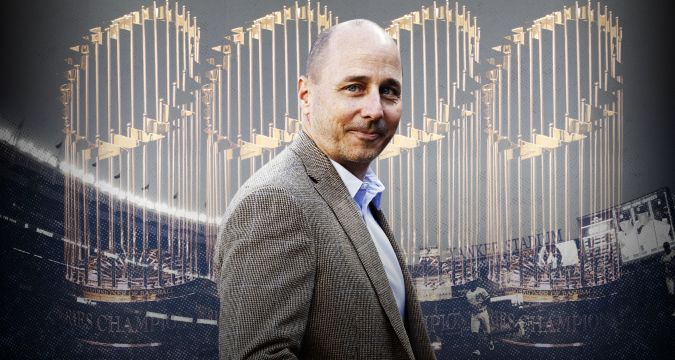 Brian Cashman - Yankees Playoff Roster