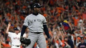 Yankees Aroldis Chapman downward spiral
