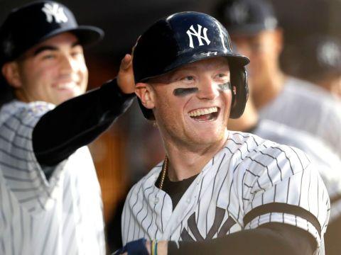 Yankees Clint Frazier - Gold Glove Finalist (Bronx Pinstripes)