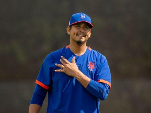 Carlos Carrasco: Mets Sore-Armed 2021 Starter (Alejandra Villa Loarco)