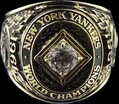 <a rel=Clete Boyer 1961 Yankees World Series Ring
