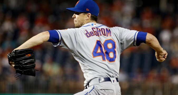 Jacob deGrom: Behold - Greatness In Our Time (NY Times)