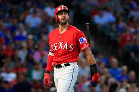 """Joey Gallo - """"Oops, missed another one""""."""