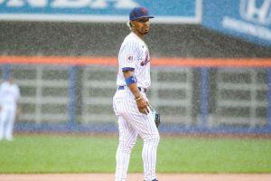Mets starter Marcus Stroman left all alone in the rain