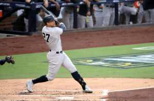 Giancarlo Stanton off and running in '21