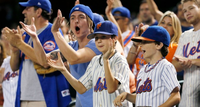 Mets fans liking this team (USA Today)