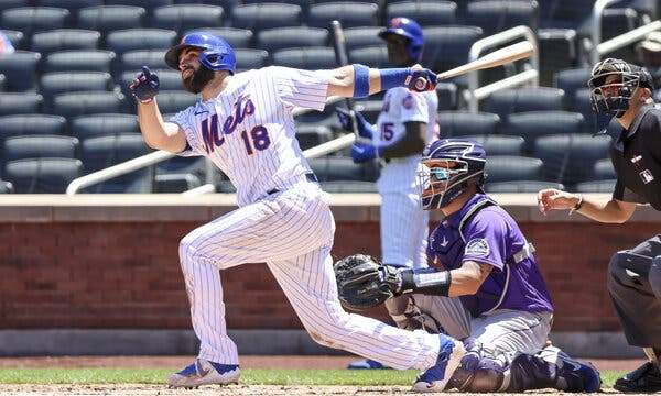Mets Mr. Clutch Jose Peraza (NY Times)