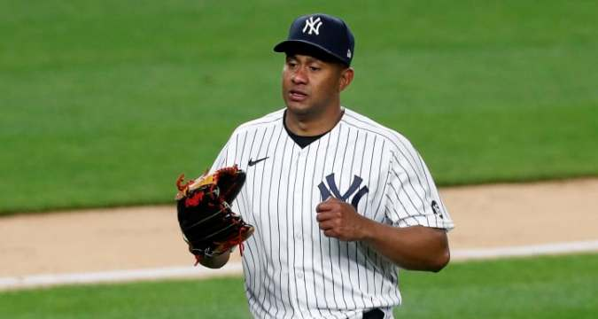 Yankees select Wandy Peralta to make a start after 10 years in the majors