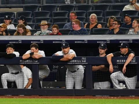 A Glum Yankees Dugout 10/5/2021 (NY Post)