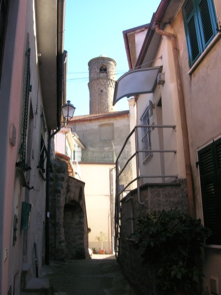 A view of the Watch Tower from the Old Town