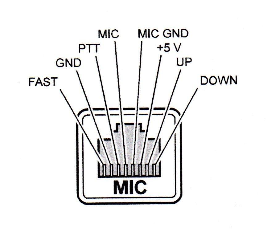 Wiring Yaesu Mic 840 Ft