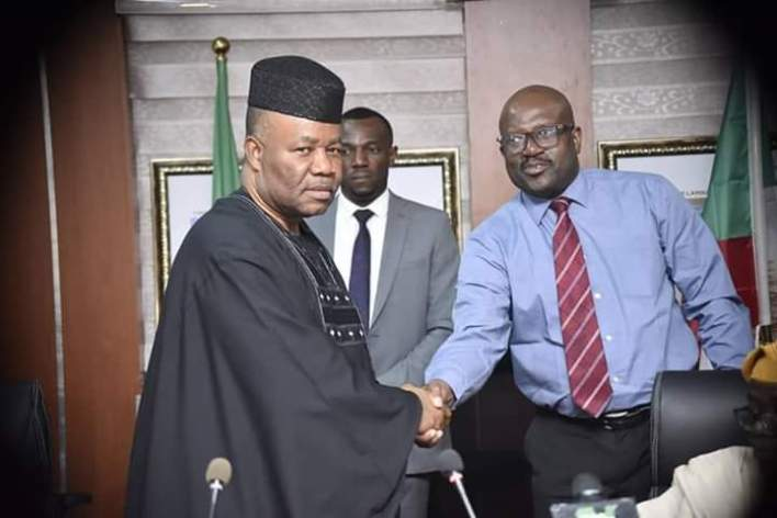 AKPABIO INAUGURATES ENLARGED NDDC INTERIM MANAGEMENT COMMITTEE