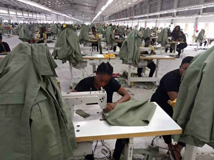 Cross River Garment Factory Recieves Order to make Thousands Of NYSC Uniforms