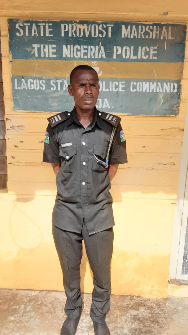 Police Inspector in viral video arrested to face Orderly Room Trials