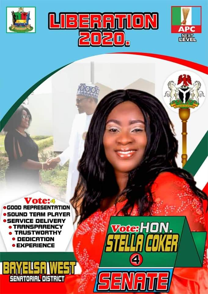 Stella Coker: Ready to Barbeque The Oferema-pepe at Senatorial Elections