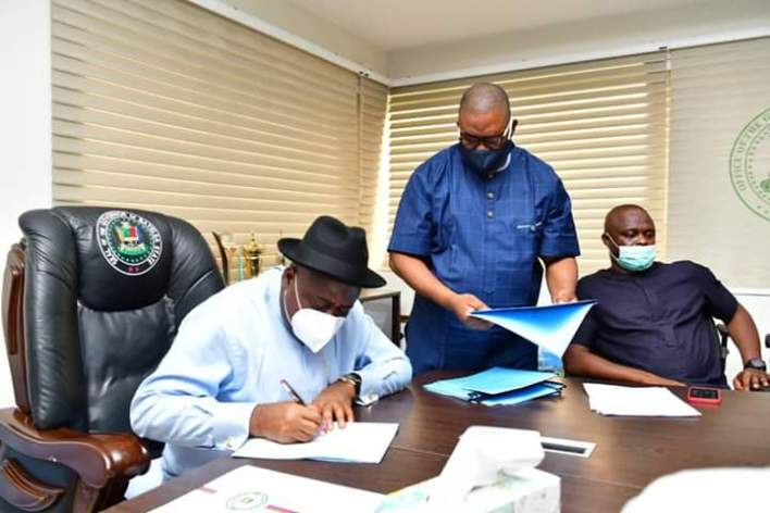 Gov. Diri Signs Amended Procurement Bill, Two Others Into Law