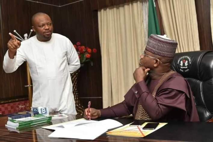 Yusuf JS condole with Gov Bello over the death of Personal Assistant, Suleiman