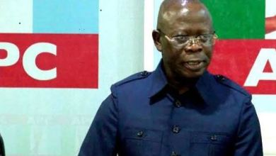 Oshiomhole Says his 'next move' will not be discussed on National Television