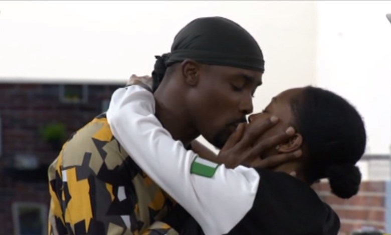 See the Couples in a Kissing Spree in #BBNaija [Full Video]