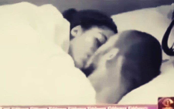 Eric, Lilo Seals Their Ship With a Romantic Kiss under the blanket #BBNaija [Video]