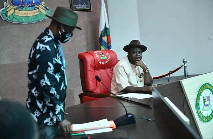 Photo of Gov. Diri Commends Conduct Of Bayelsa #EndSARS Protesters