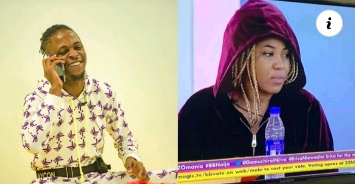 Why Should I Apologise to Erica, Laycon angrily replies fan [Video] #BBNaija