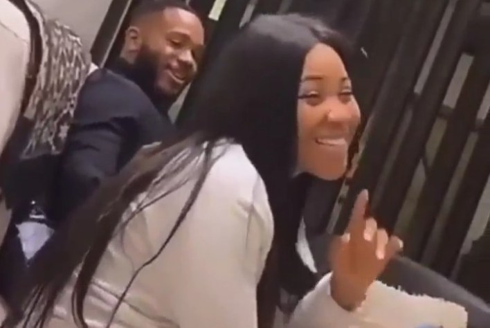 #EndSARS Campaign: See How Kiddwaya is Patting Erica's back [Video]