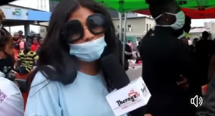 #EndSARS: Mercy Eke Makes More Demands, Call For More Protesters [Video]