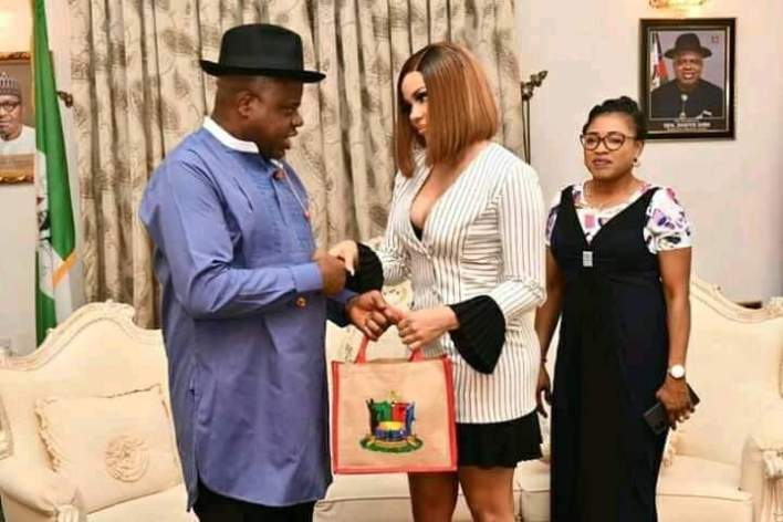 Nengi's Fans in Bayelsa, Asked After Ozo, As She Visit the State With Neo