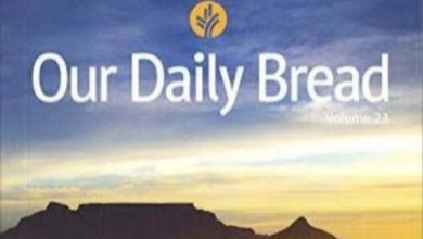 Our Daily Bread Friday Devotional 14th May 2021 – Take In