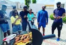 Photo of Lucy Hosts Ex-Housemates To A Special Bolle, Grilled Fish Session [Video]