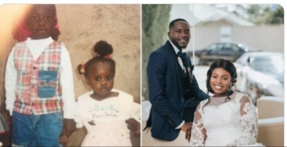 How I met My Wife When I was 3-years Old, Man Shares Heartwarming Story