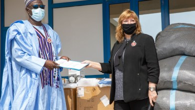 Handover of AFRICOM-Supported COVID-19 Personal Protective Equipment