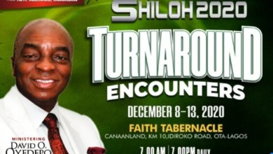 Winners Chapel Shiloh 2020 Day 2 Live Broadcast – Turnaround Encounter (Wednesday 9th December 2020)