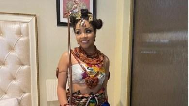 BBNaija Finalist Nengi Arrives Port Harcourt Amidst Masquerade Display