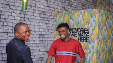 Aproko Hosts His Roommate, Coxson in Yenagoa, Shares Experience [Photo]