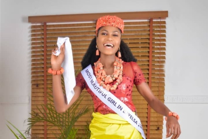 Most Beautiful Girl in Bayelsa, Queen Constance Releases Stunning Pictures in Nembe Culture