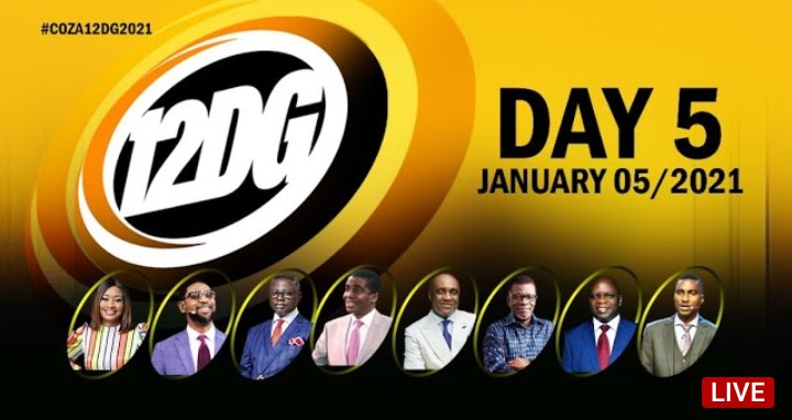COZA 12 Days of Glory 6 January 2021 - Day 5 Covenant Day of Help