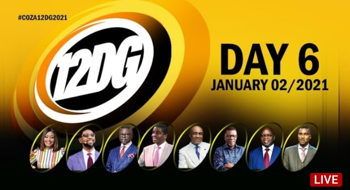COZA 12 Days of Glory 7 January 2021 - 12DG Day 6