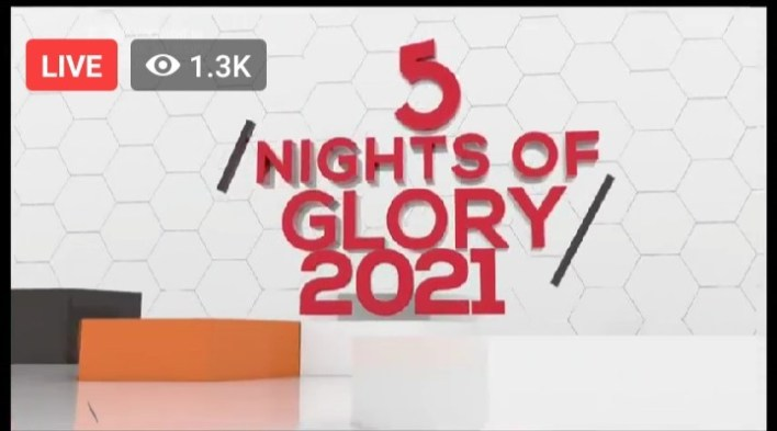 5 Nights of Glory 22 January 2021 5NOG - Day 5