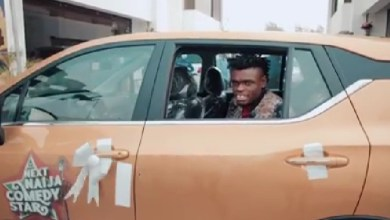 Aproko Winner Next Naija Comedy star Receives Brand New Car ]Video]