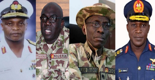 Brief Profile of Nigeria's New Service Chiefs Appointed By President Buhari