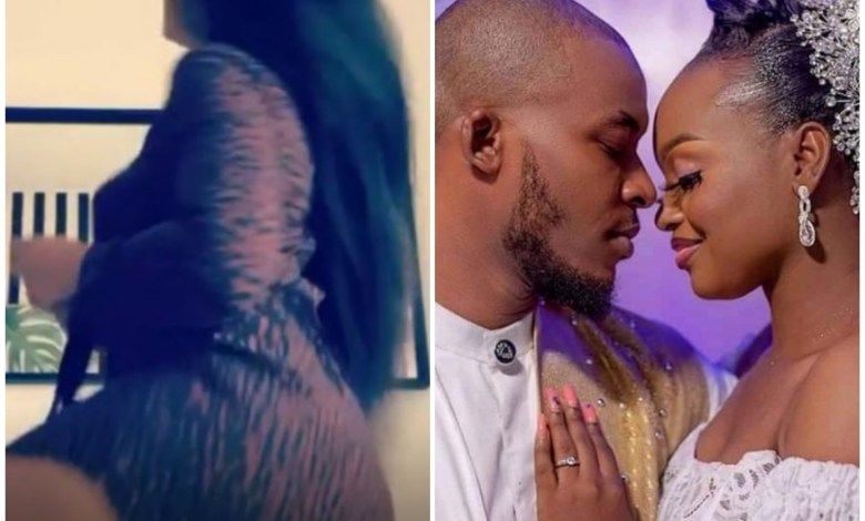 BBNaija Lilo Twerks Out Her Backside As Eric Releases Pre-Wedding with His Girlfriend [Video]