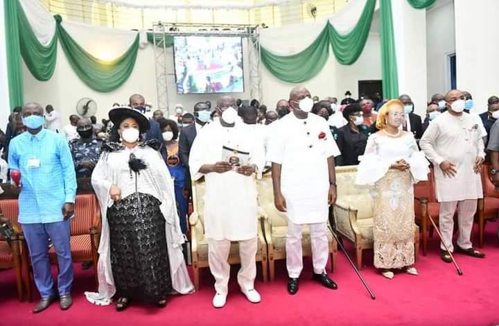 Jonathan, Govs, Secondus, Enang Present As Gov Diri Marks Supreme Court Victory