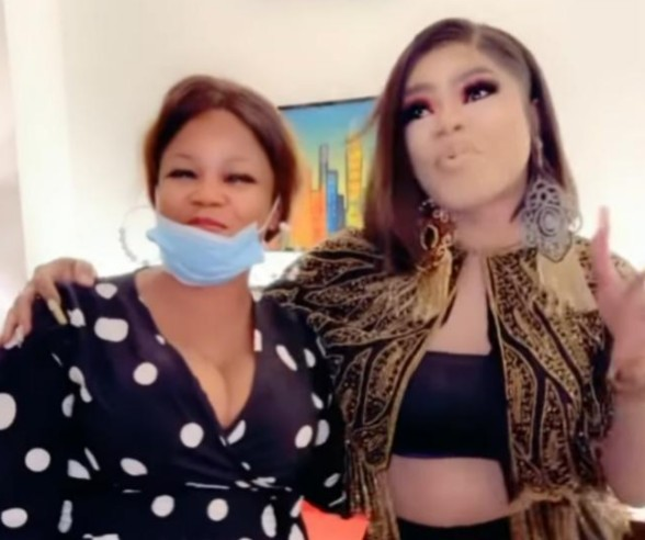 Bobrisky Meets Lady With Tattoo of Him in Lagos [Video]