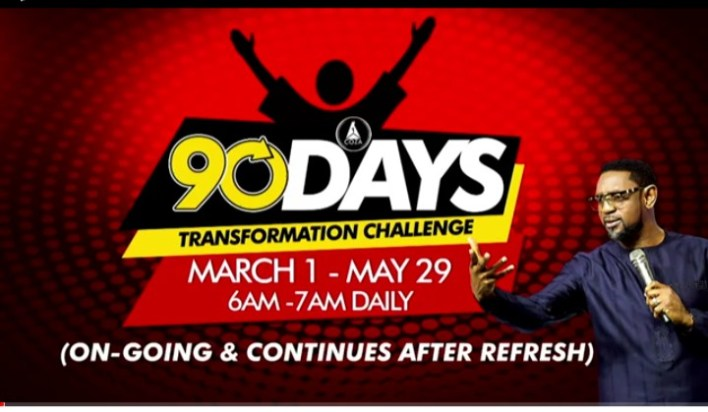 COZA 90-Day Challenge Tuesday 2nd March 2021