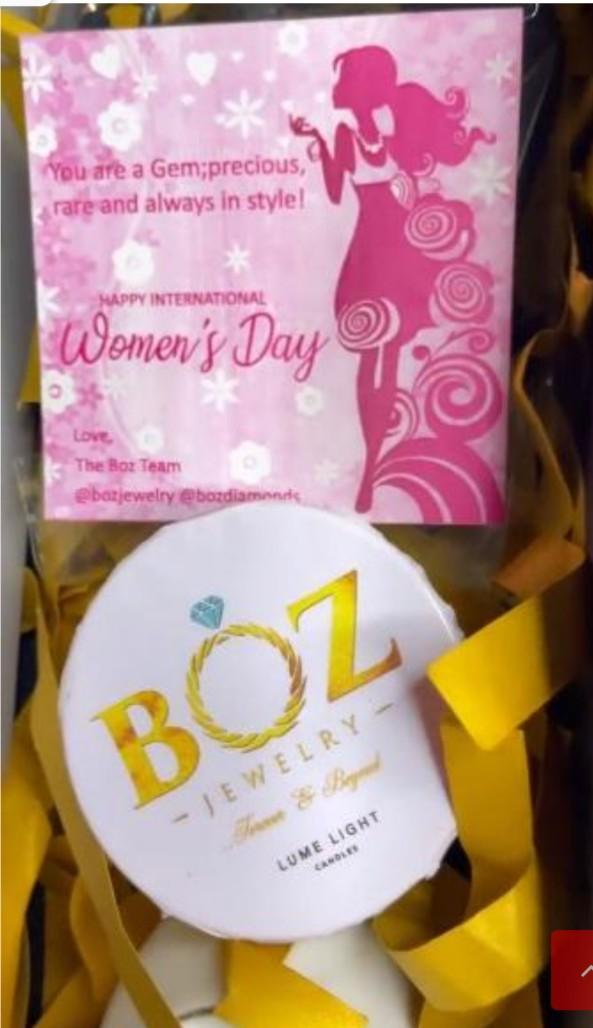 Fans Showers Diamond Jewelry on Nengi To Celebrate Women's Day